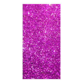 Purple Diamond Glitter Card