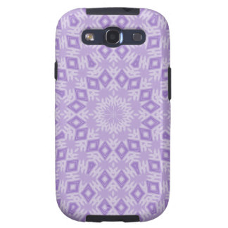 Purple Diamond Pattern Samsung Galaxy Case