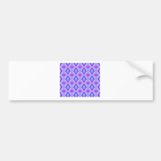 Purple Diamonds 2 Bumper Sticker