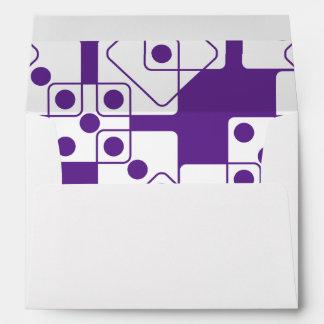 Purple Dice Envelope