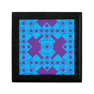 Purple Dice Jewelry Box