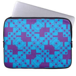 Purple Dice Computer Sleeves