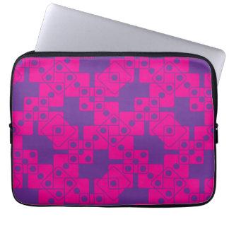 Purple Dice Laptop Sleeves