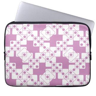 Purple Dice Laptop Sleeve