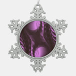 Purple Digital Abstract Ornament