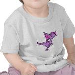 Purple Dilophosaurus T Shirts