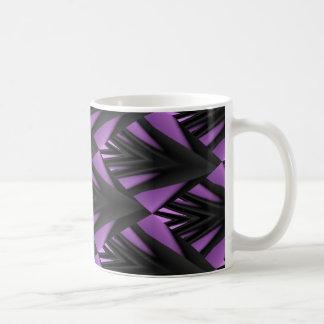 Purple Dimensions Coffee Mug