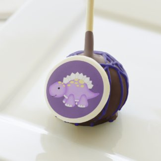 Purple Dinosaur | Customizable Cake Pops