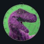 "Purple Dinosaur Target Dartboard<br><div class=""desc"">Purple Dinosaur Target brought to you by danieljm</div>"