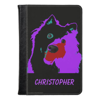 Purple Dog Personalized Kindle Fire HD, HDX Cover