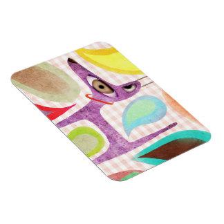 Purple Dog Premium Magnet