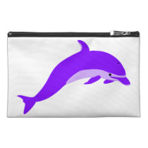 Purple Dolphin Asthma Emergency Kit Travel Accessory Bag