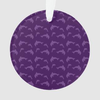 Purple dolphin pattern