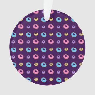 purple donut pattern