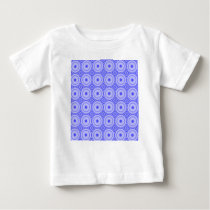 purple dot pattern baby T-Shirt