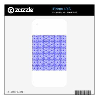 purple dot pattern iPhone 4S decal