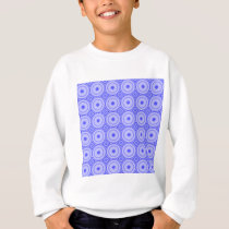 purple dot pattern sweatshirt