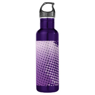 Purple Dot Water Bottle