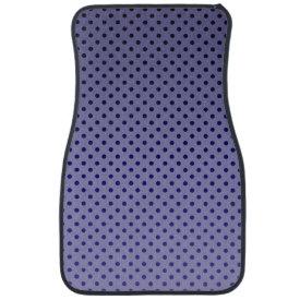 Purple Dots Floor Mat