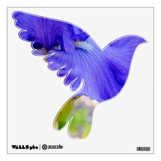 Purple Dove Love II Wall Sticker