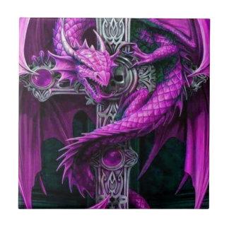 Purple Dragon Ceramic Tile