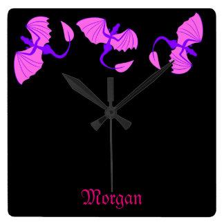 Purple dragon clock