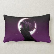 Purple Dragon Lumbar Pillow