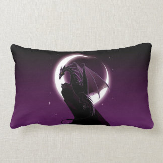 Purple Dragon Lumbar Pillow