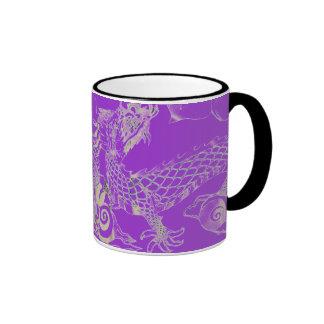 purple dragon mug
