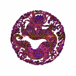 Purple Dragon Ornament