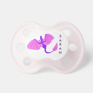 Purple Dragon Pacifier