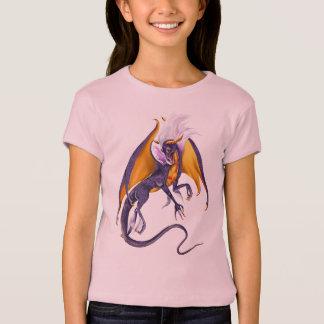 Purple Dragon plain Trans T-Shirt
