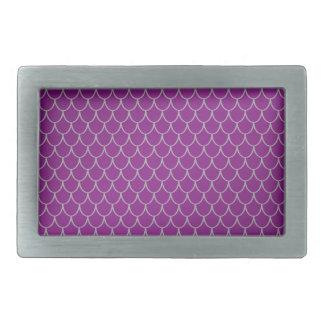 Purple dragon scales belt buckle