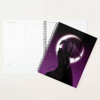 Purple Dragon Spiral Planner