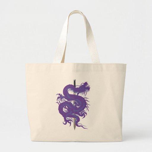purple.dragon.sword bolsas de mano