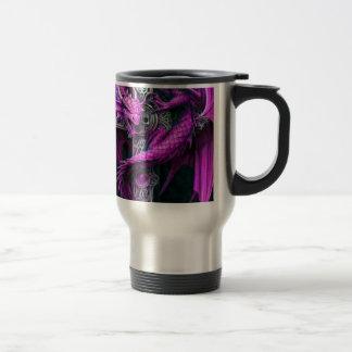 Purple Dragon Travel Mug
