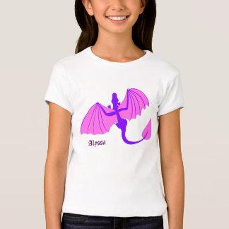 Purple Dragon with name shirt