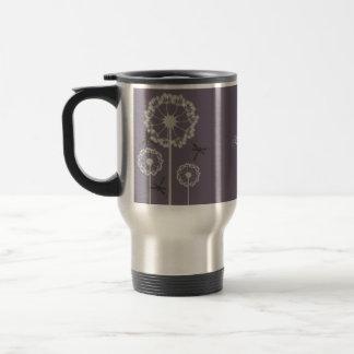 Purple Dragonflies Travel Mug