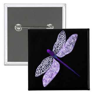Purple Dragonfly Pin
