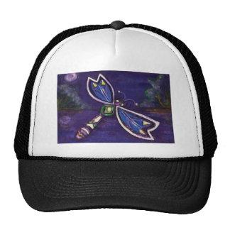 Purple Dragonfly Design Trucker Hat