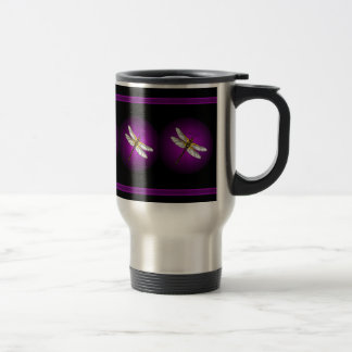 Purple Dragonfly Dragonflies Insects Mug