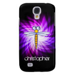 Purple Dragonfly Samsung Galaxy S4 Case