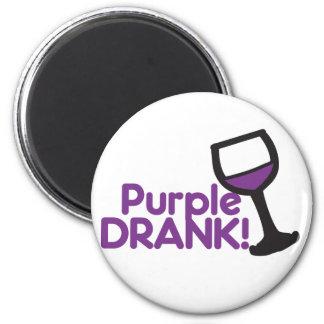 Purple Drank 2 Inch Round Magnet