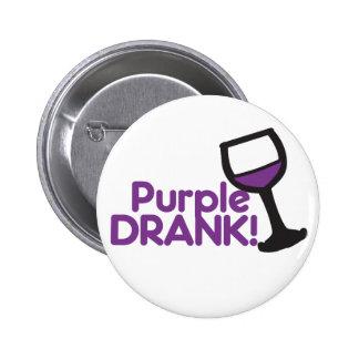 Purple Drank Pinback Button