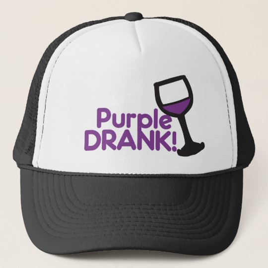 Purple Drank Trucker Hat