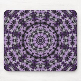 Purple Dream Kaleidoscope Mouse Pads