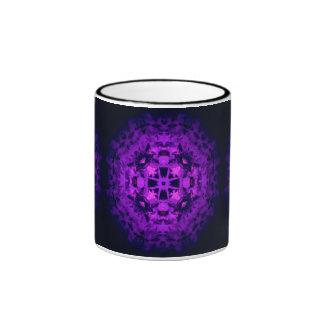 Purple Dream Ringer Coffee Mug