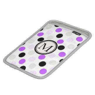 Purple Dream Polka Dots Rickshaw iPad Mini Sleeve