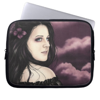 Purple Dreamland Laptop Sleeve