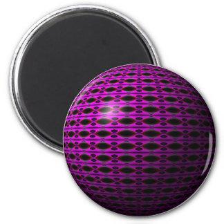Purple Dreams 2 Inch Round Magnet